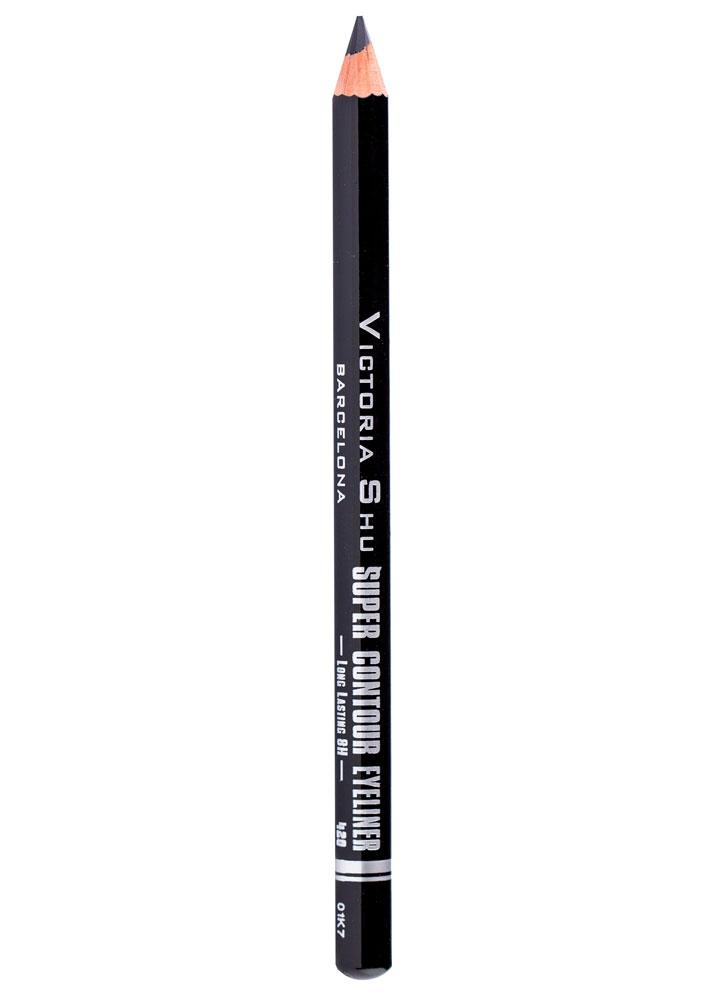Карандаш для глаз  Черный VICTORIA SHUКарандаш для глаз<br>-<br>Вес : 0.78; Цвет: Черный;