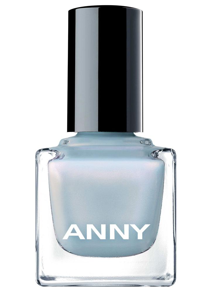 Лак для ногтей Голубой с розовой искрой ANNY Shades фото