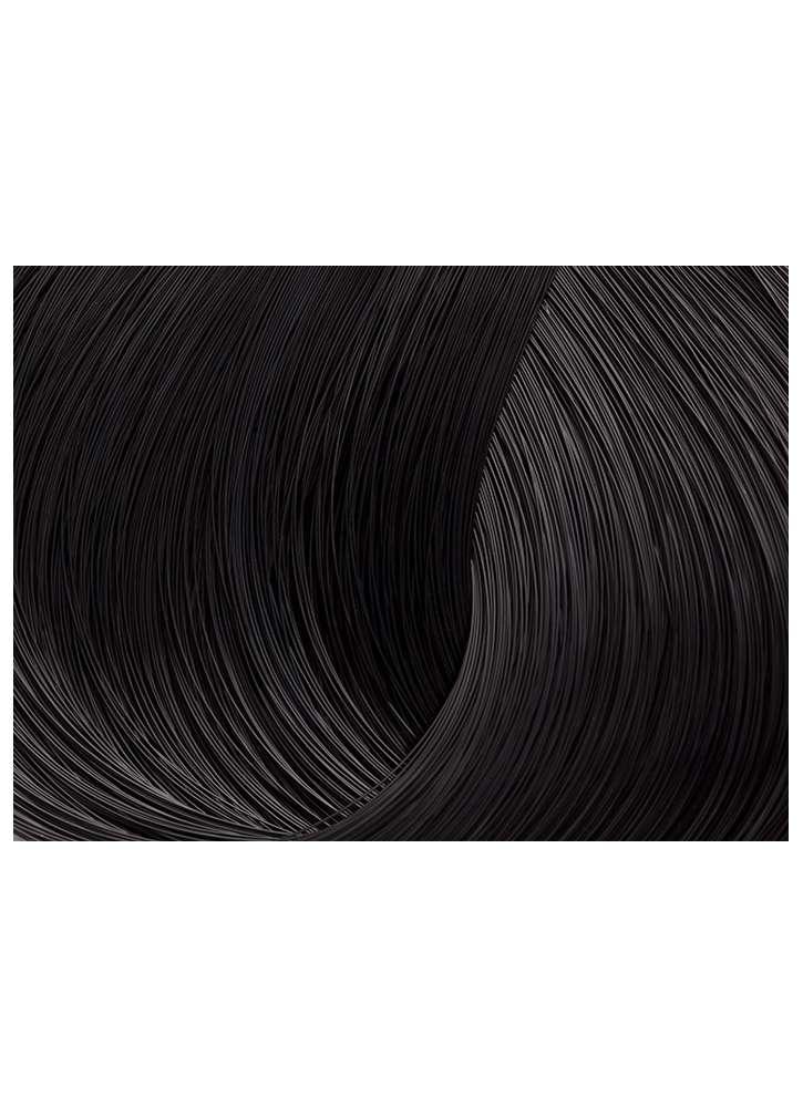 Стойкая крем-краска для волос 2 -Черный LORVENN Beauty Color Professional тон 2 Черный фото