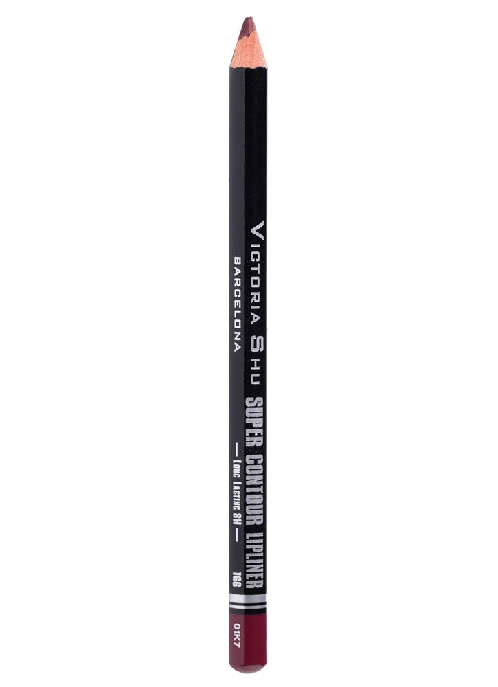 Карандаш для губ устойчивый Super Contour тон 166Карандаш для губ<br>-<br>Вес : 0.78; Цвет: Сливовый;