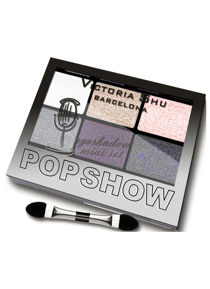 Палетка теней для век Pop Show тон 470Палетка теней<br>Мини-наборы для создания макияжа любой сложности – легкого дневного или&amp;nbsp;&amp;nbsp;выразительного вечернего.<br>Вес : 0.03600; Цвет: Бежево-сиреневая гамма;