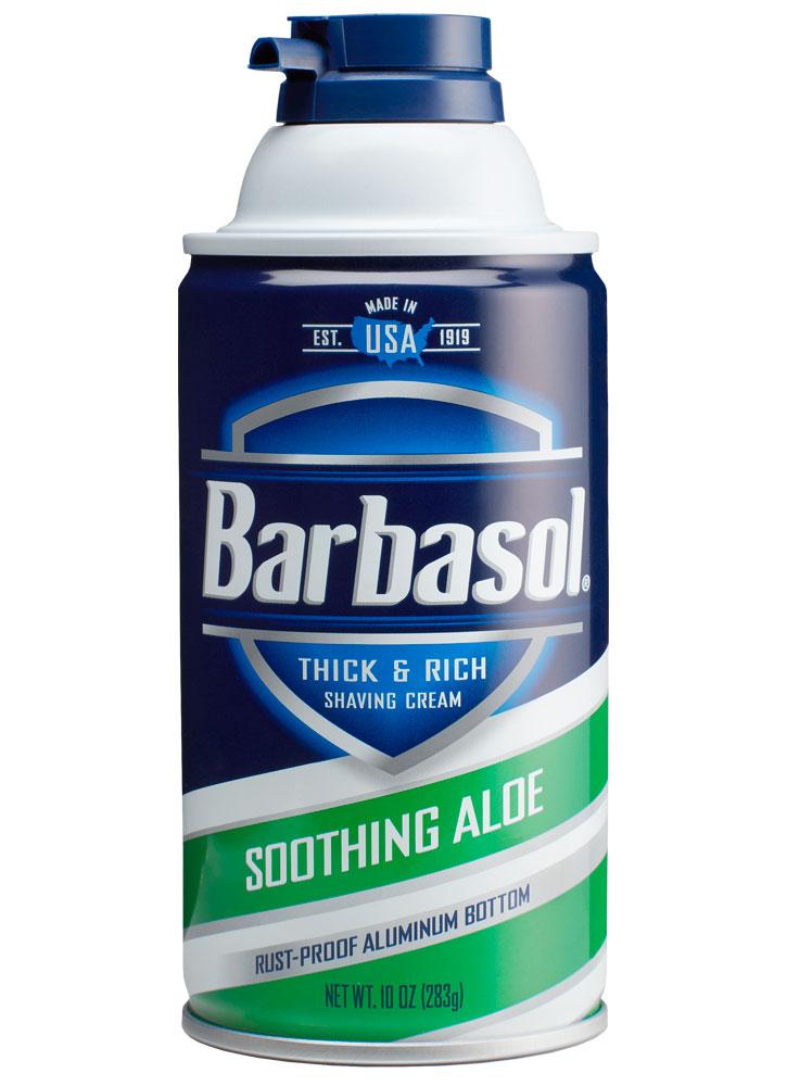 Крем-пена для бритья смягчающая с экстрактом алоэ BARBASOL