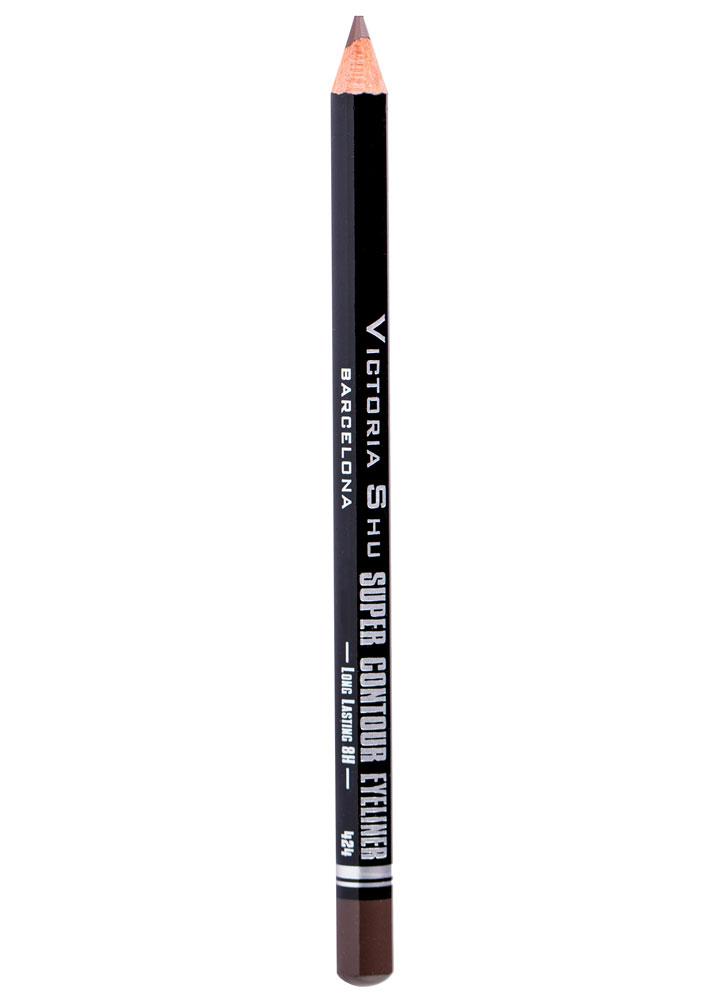 Карандаш для глаз Тепло-коричневый VICTORIA SHU Super Contour фото