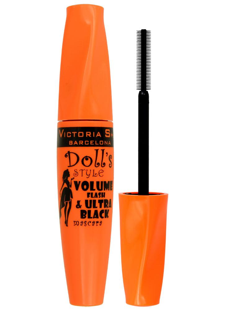 Тушь для ресниц Dolls Style Volume Flash&amp;UltrablackТушь для ресниц<br>-<br>Цвет: Черный;