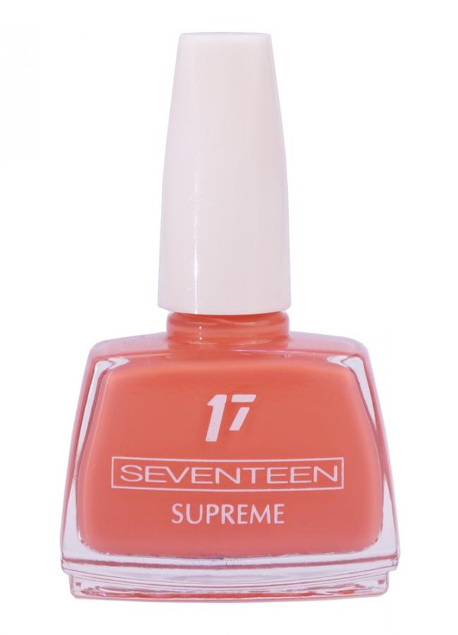 SEVENTEEN Лак для ногтей Supreme Nail Enamel тон 154 Красно-оранжевый