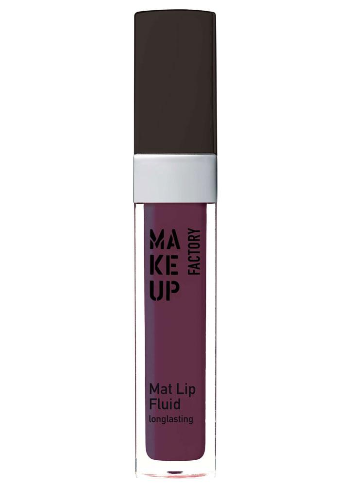 Помада-блеск для губ матовая стойкая Mat Lip Fluid longlasting тон 91Помада для губ<br>Устойчивый блеск-флюид Mat Lip Fluid longlasting с абсолютно матовой текстурой бережно покрывает губы и обеспечивает невероятно стойкий результат. Благодаря высокому содержанию натуральных пигментов помада создает насыщенный цвет на губах с матовым финишем. Комфортная кремовая текстура гарантирует тонкое, но плотное покрытие с быстрой фиксацией на губах.<br>Удобный аппликатор способен повторять форму губ, что обеспечивает быстрое и точное нанесение продукта.<br>Цвет: Баклажан;