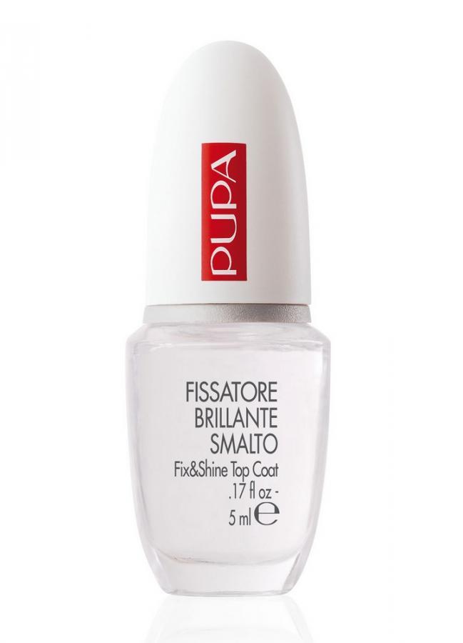 Закрепитель лака Fissatore Brilliante SmaltoБазы и топы<br>Bright Nail Polish Fixative создает прозрачное глянцевое покрытие,&amp;nbsp;&amp;nbsp;подчеркивающее цвет лака и закрепляющее его на ногтях. Кроме того, такое защитное покрытие позволяет лаку на ногтях держаться дольше,&amp;nbsp;&amp;nbsp;предохраняет его от выцветания и потери&amp;nbsp;&amp;nbsp;блеска, от различных механических повреждений. В результате использования средства, лак на ногтях выглядит более эффектно.<br>Объем мл: 5;