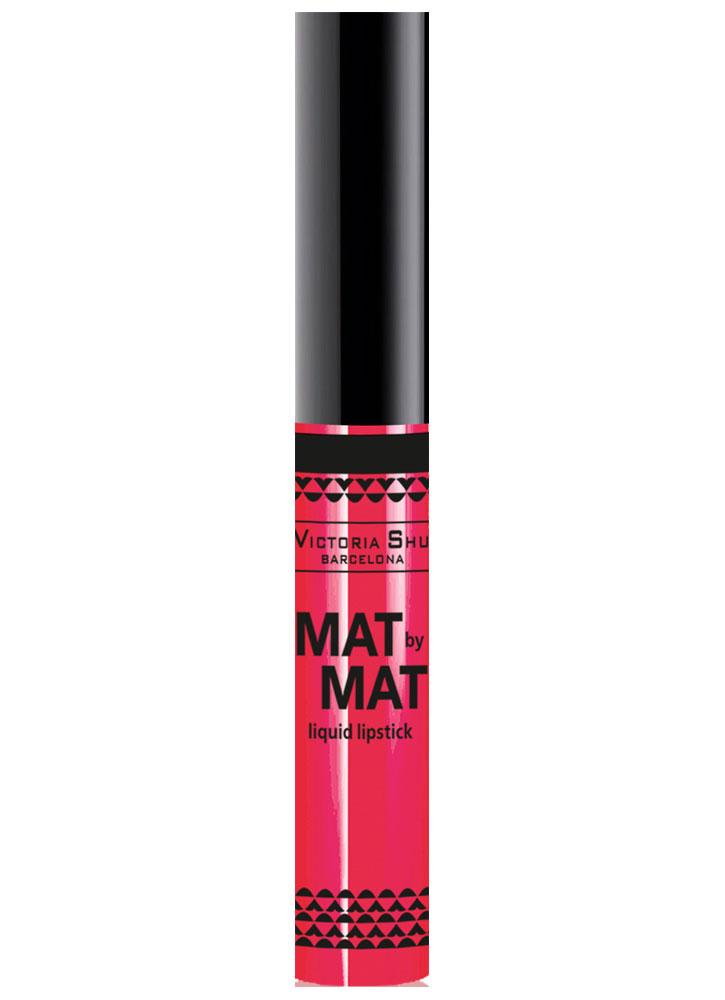 VICTORIA SHU Помада для губ жидкая матовая Mat By Mat тон 254