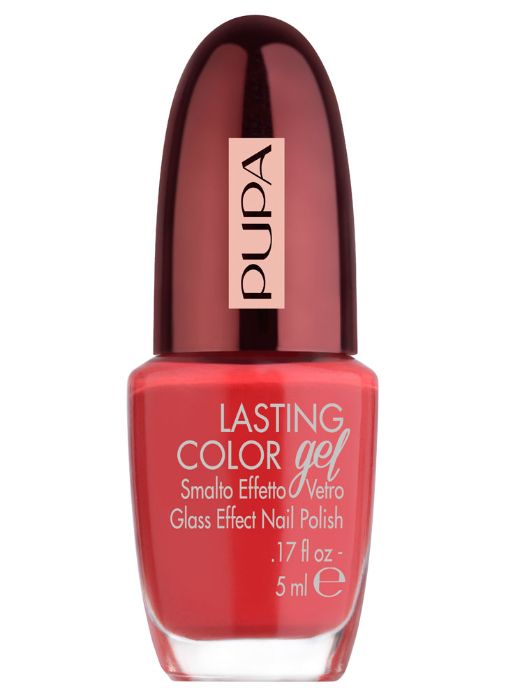 Лак для ногтей Lasting Color Gel Collection Privee тон 180АЛак для ногтей<br>-<br>Цвет: Роскошный красный;