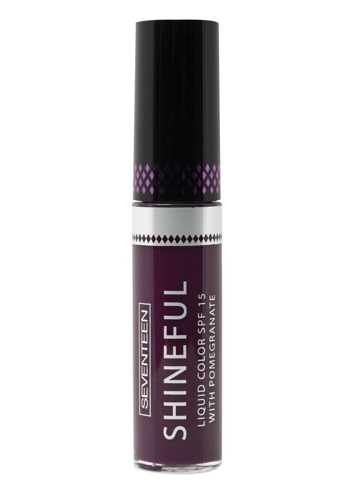 Купить Помада-блеск жидкая с глянцевым эффектом Фиолетовый кларет SEVENTEEN, Shineful Liquid Color SPF 15, Греция