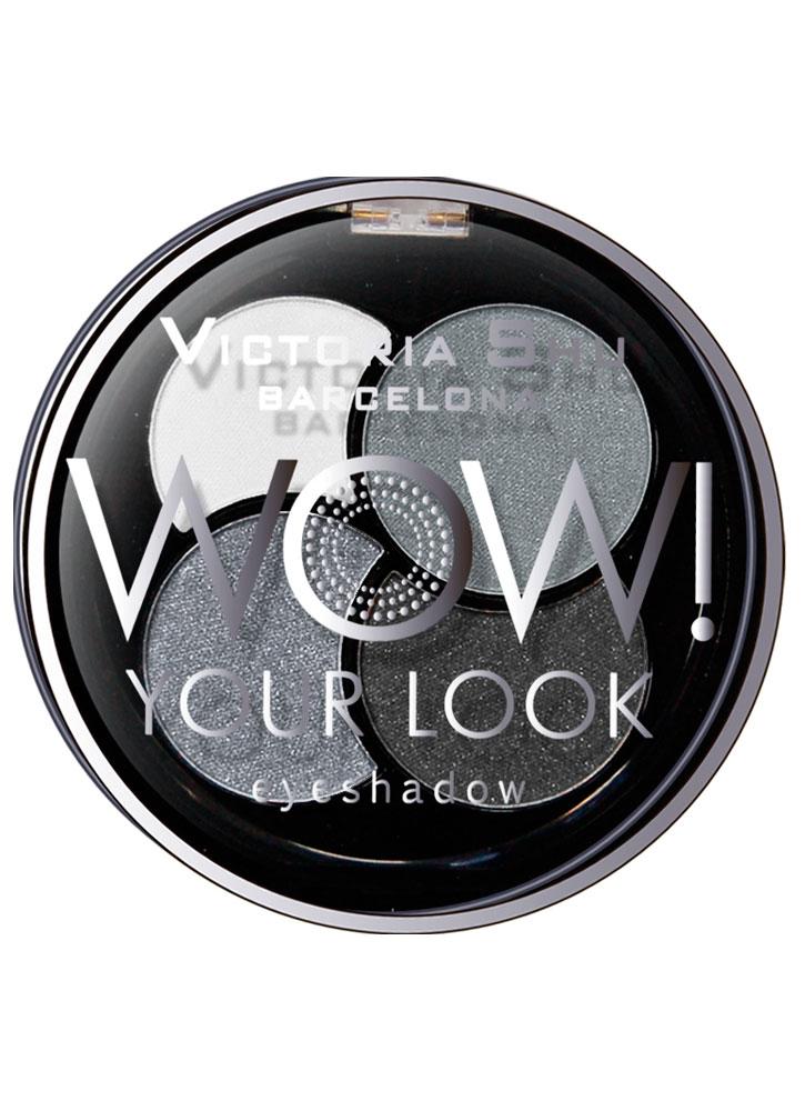 Тени для век WOW! Your Look тон 245 Серый квартетТени для век<br>-<br>Цвет: Серый квартет;