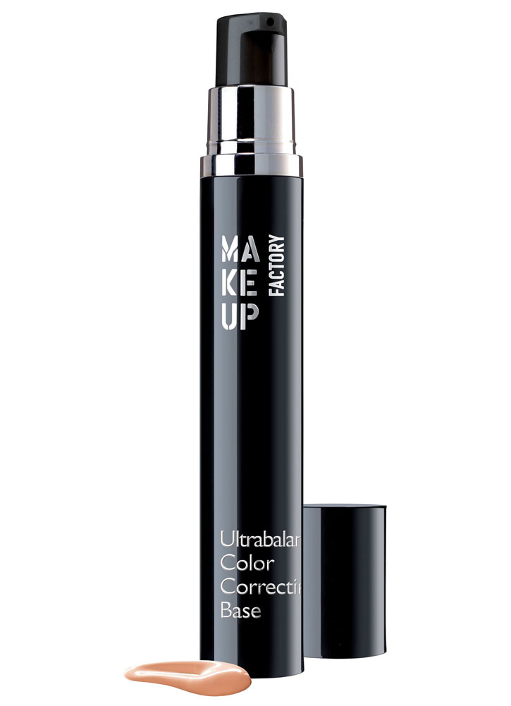 База под макияж корректирующая цвет лица Абрикос MAKE UP FACTORY Ultrabalance Color Correcting Base