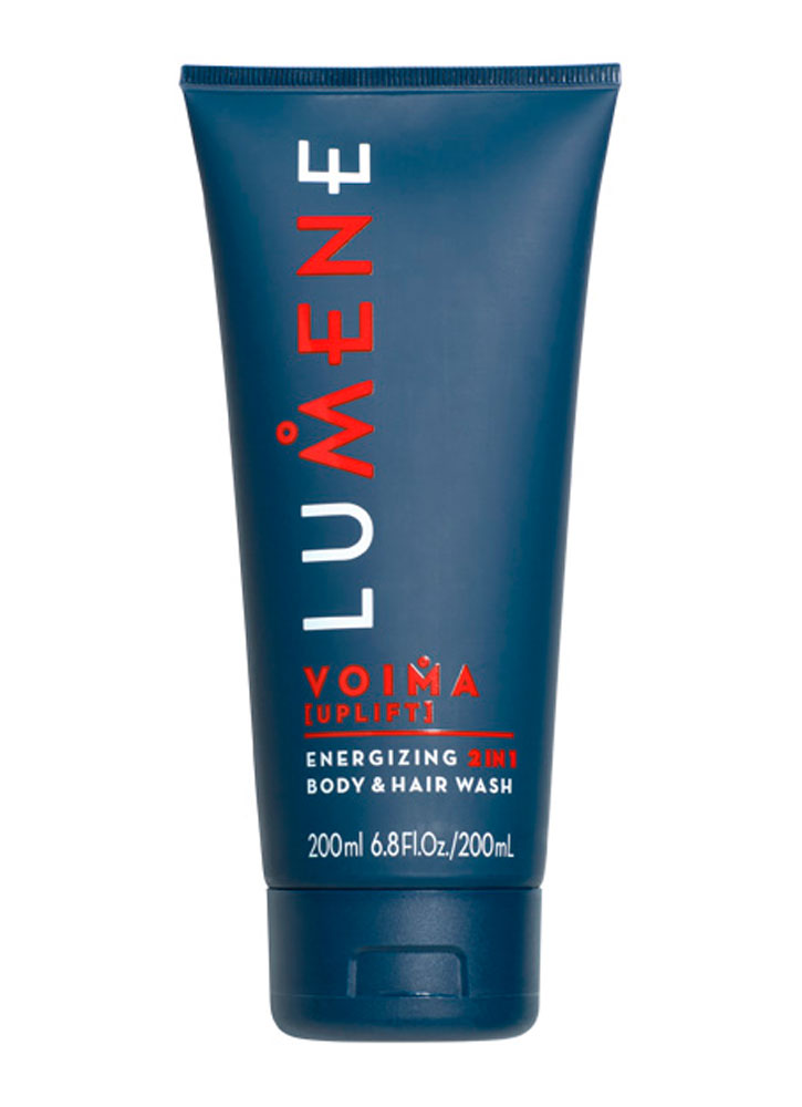 LUMENE Энергетическое очищающее средство 2 в 1 Energizing 2in1 Body  Hair Wash Voima