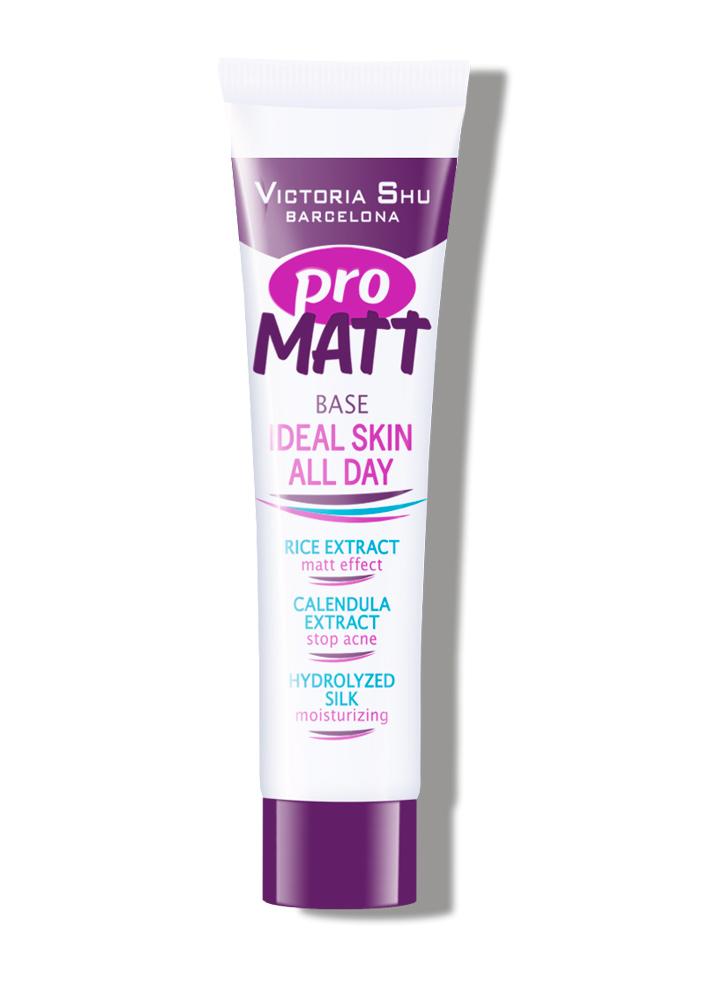 База под макияж Pro MattПраймер<br>Инновационная база для макияжа мгновенно преображающая кожу.<br>Цвет: Прозрачно-кремовый;