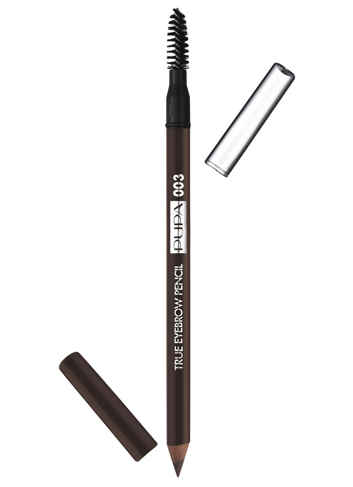 Карандаш для бровей водостойкий Темно-коричневый PUPAКарандаш для бровей<br>-<br>Вес гр: 1; Цвет: Темно-коричневый;