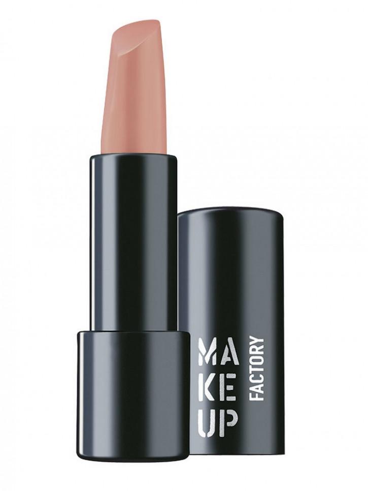 Помада для губ полуматовая Мягкий нюд MAKE UP FACTORY Magnetic Lips semi-mat & long-lasting фото
