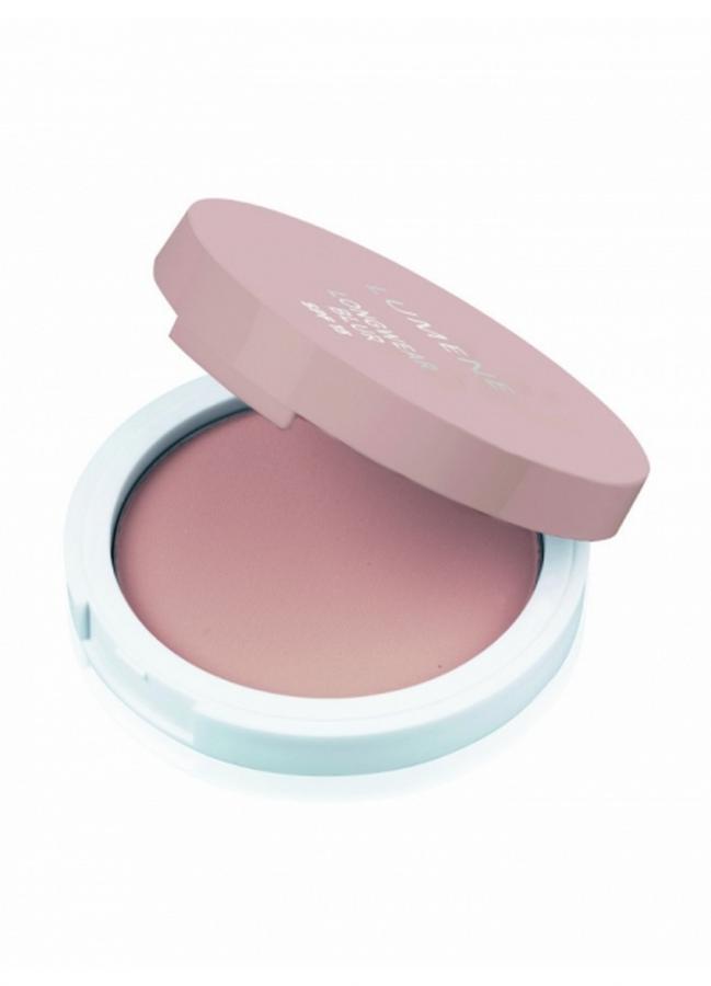 Крем-пудра для лица преображающая устойчивая Lumene Longwear BLUR SPF 15 Powder Foundation тон 3 АбрикосовыйПудра<br>Бархатистая пудра мгновенно выравнивает цвет лица и надолго создает матовое покрытие. Обеспечивает защиту кожи от солнечного излучения благодаря SPF 15. Для всех типов кожи. Роскошная матовая бежевая упаковка с зеркальцем.<br>Цвет: Абрикосовый;