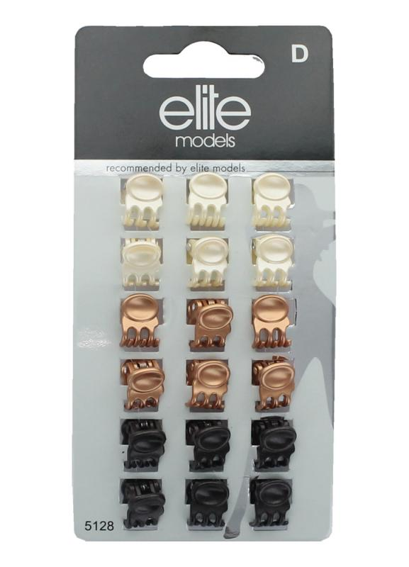 ELITE Набор мини-заколок для волос Краб