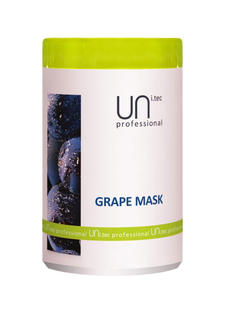 Маска для окрашенных и химически обработанных волос Grape Mask 1000 млМаска<br>Действие активных компонентов кондиционирует и питает волосы от корней до кончиков, придавая волосам мягкость и блеск. Предупреждает преждевременное старение волос и пролонгирует стойкость цвета окрашенных волос.<br>
