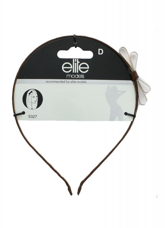 Ободок ELITEОбодки и повязки<br>Ободок для волос - универсальный аксессуар, который можно носить на коротких или длинных волосах. Он может бытьиспользован в качестве модного аксессуара или для поддержки волос.<br>Вес гр: 17,5;