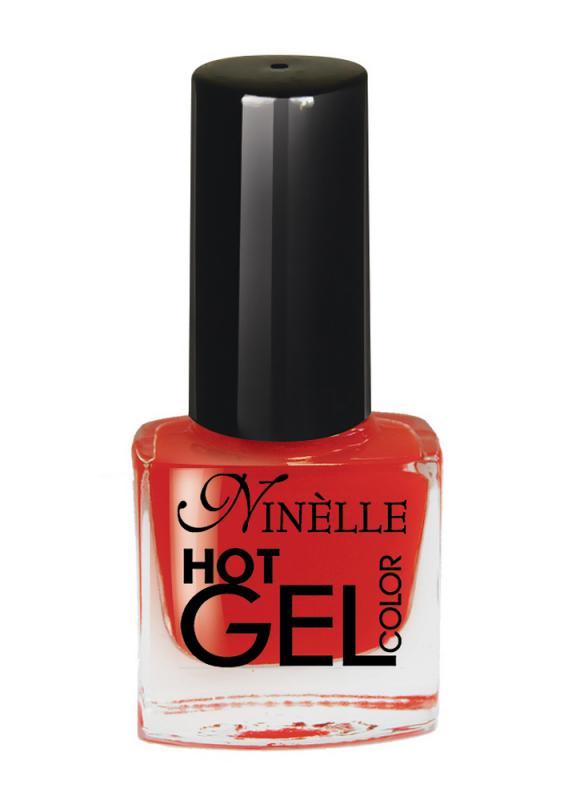Гель-лак для ногтей Hot Gel Color тон G06 КрасныйЛак для ногтей<br>Здоровые ногти и яркий цвет!С помощью лака с эффектом гелевого покрытия можно создать идеальный маникюр без вреда для ногтей, который долго держится. Профессиональное гелевое покрытие из 11 ультра модных оттенков всего за считаные минуты без использования специальных UV ламп. Революционная формула гелевого покрытия создаёт супер глянцевый маникюр с эффектом зеркального блеска. Эффект 3D текстуры создаёт объёмное и гладкое покрытие. Цвет яркий и насыщенный уже после первого слоя. Широкая кисть с округлыми щетинками гарантирует превосходное нанесение для быстрого и профессионального маникюра. Стойкий маникюр на долгое время.<br>Цвет: Красный;