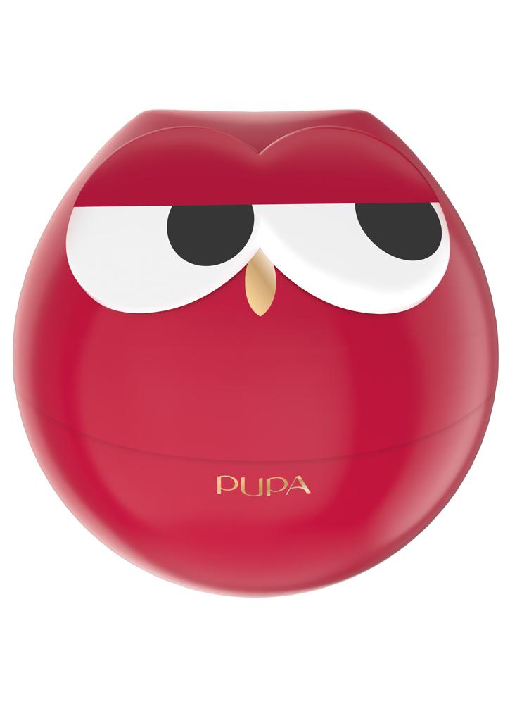 Шкатулка для макияжа PUPA Owl 1 тон 004Наборы<br>-<br>Цвет: Красные оттенки;