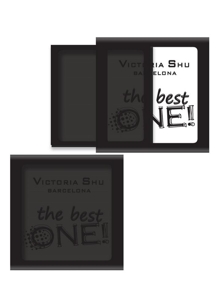 Тени для век The Best One тон 532 Черно-коричневыйТени для век<br>Палитра для создания бесчисленных и многогранных образов.<br>Цвет: Черно-коричневый;