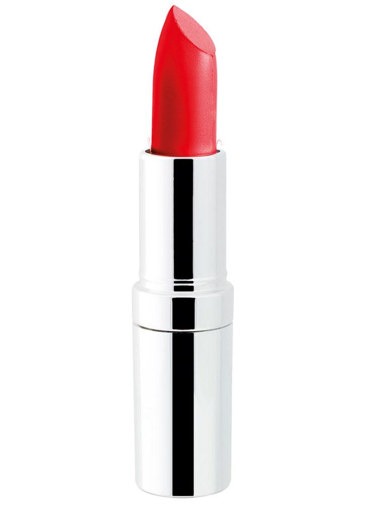 Помада для губ матовая Matte Lasting Lipstick тон 21Помада для губ<br>Устойчивая помада с матовым эффектом и с защитным фактором SPF15. Защищает губы и придает насыщенный цвет.<br>Вес гр: 5; Цвет: Ярко коралловый;