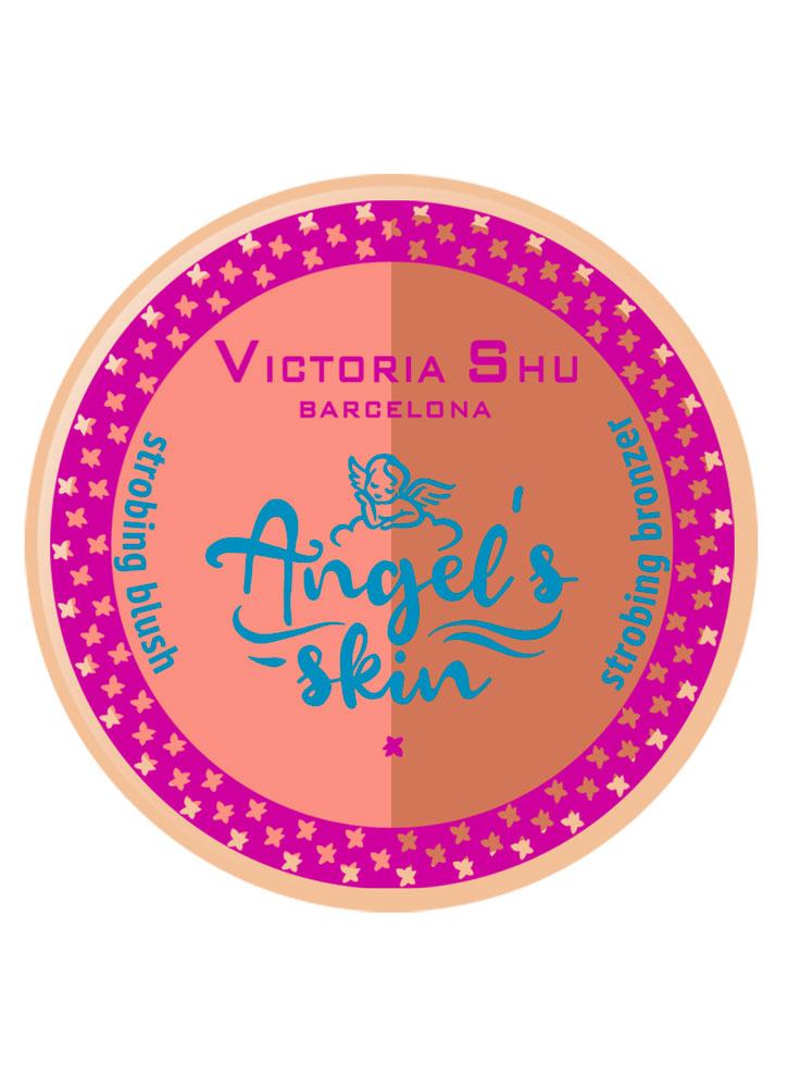 Румяна-бронзатор для стробинга VICTORIA SHU Angel's Skin фото