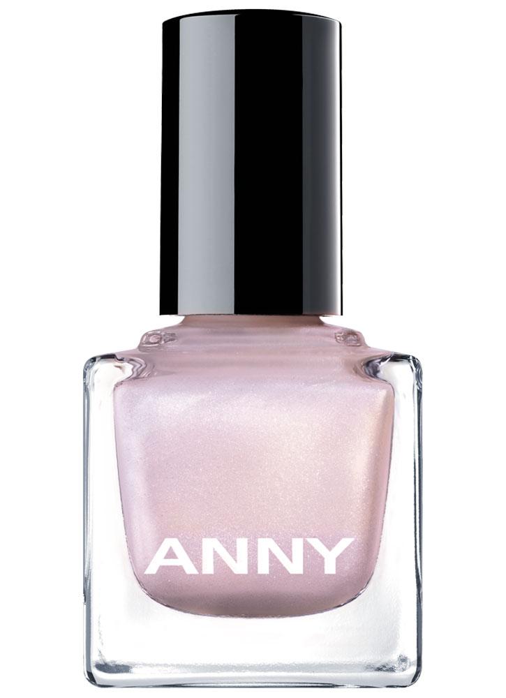 Лак для ногтей Белый с розовой искрой ANNY Shades фото