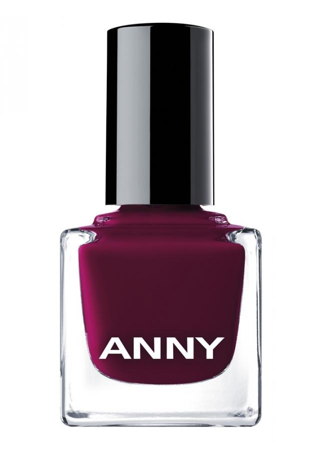 Лак для ногтей Красно-бордовый ANNY