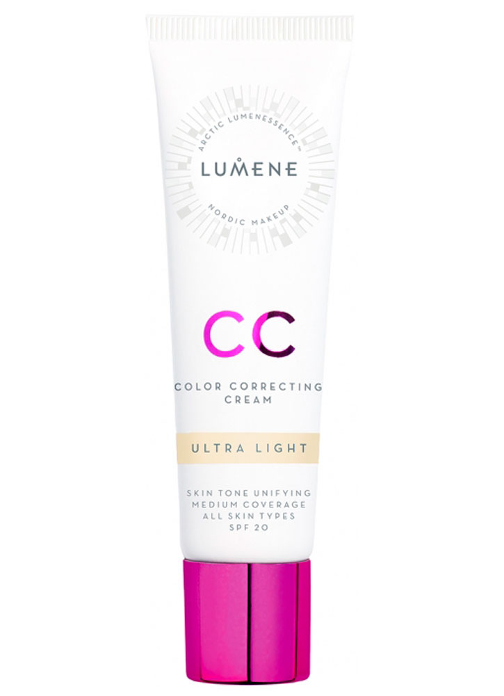 СС крем «Абсолютное совершенство» Ultra Light LUMENE Color Correcting Cream фото