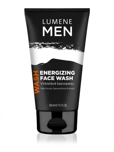 Средство для умывания энергетическое Lumene Men Sensitive Face Wash 150 мл