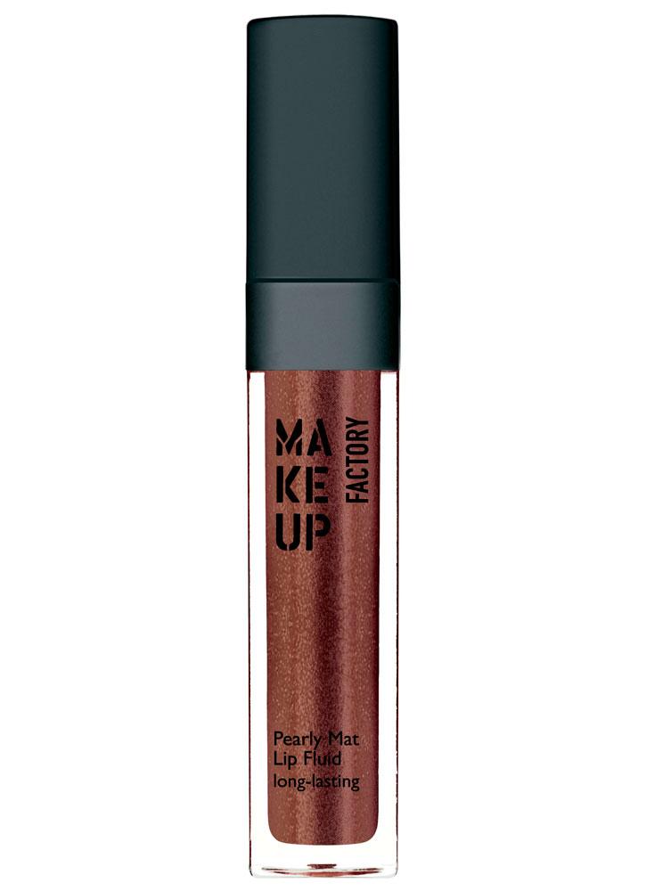 Блеск-флюид перламутровый матовый устойчивый Pearly Mat Lip Fluid long-lasting тон 24 Какао с золотомБлеск для губ<br>-<br>Цвет: Какао с золотом;
