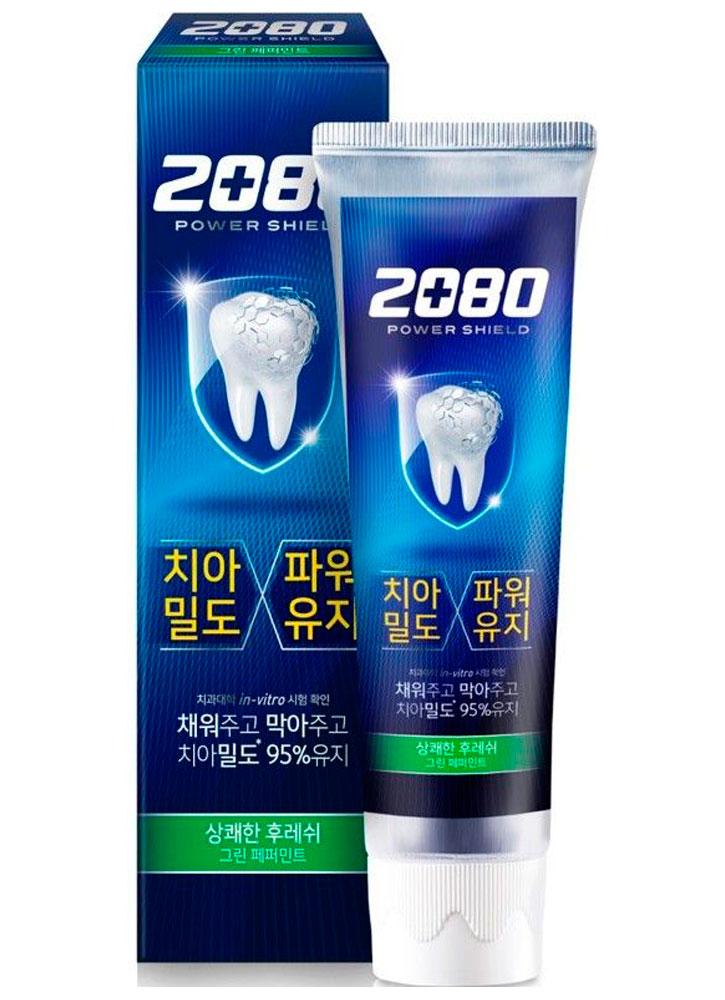 Зубная паста супер защита грин DENTAL CLINIC 2080 POWER SHIELD GREEN PEPPERMINT