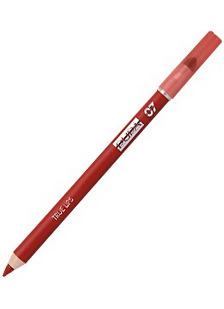 Карандаш для губ True Lips Pencil тон 07Карандаш для губ<br>Контурный карандаш для губ с аппликатором для растушевки&amp;nbsp;&amp;nbsp;придаст губам четкий контур. Пластичная текстура карандаша легко наносится и дает возможность использовать его в качестве самостоятельного декоративного средства для создания матового эффекта на губах и для оформления контура губ.<br>Вес гр: 1,2; Цвет: Шокирующий красный;