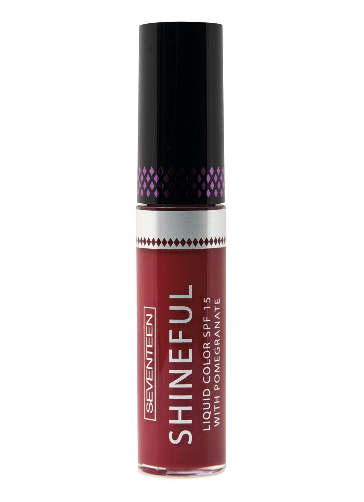 Купить Помада-блеск жидкая с глянцевым эффектом Красный SEVENTEEN, Shineful Liquid Color SPF 15, Греция