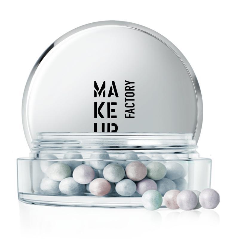 Пудра-хайлайтер в шариках Shimmer Pearls тон 10 Микс:мята,сиреневый,абрикосХайлайтер<br>Пудра из разноцветных шариков пастельных оттенков с перламутровым отливом предназначена для финишной отделки и смягчения рельефов в макияже. Идеальное сочетание пигментов для придания коже свежести и естественного сияния: абрикосовый– выравнивает общий тон лица, сиреневый – мягко отражает свет и освежает кожу, а мятно-зеленый – скрывает небольшие неровности и покраснения.<br>Цвет: Микс:мята,сиреневый,абрикос;