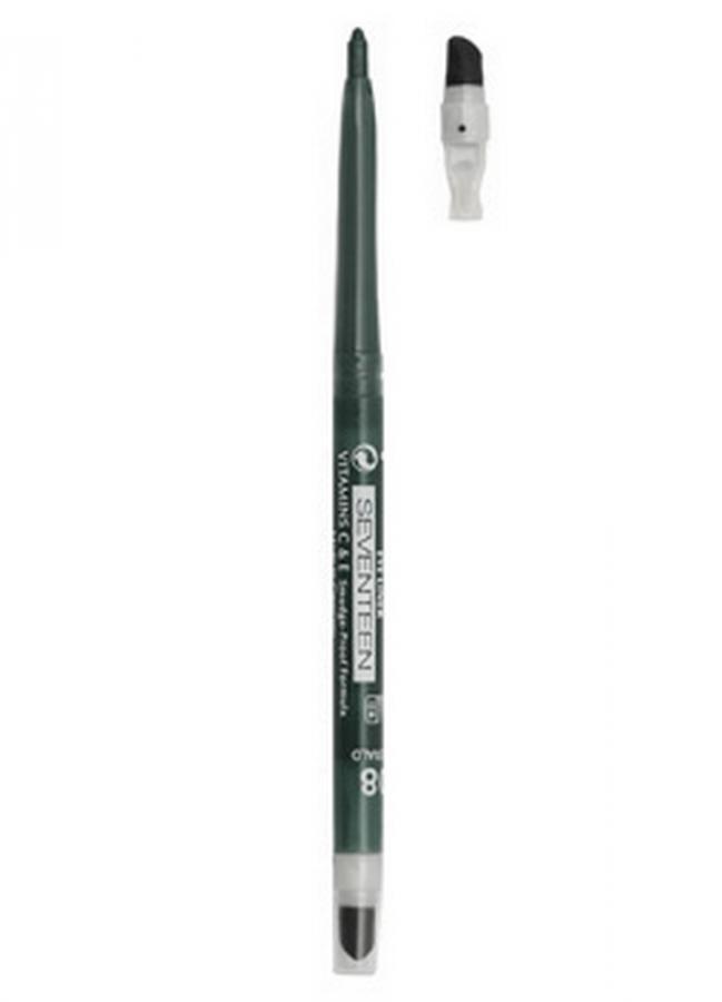 Карандаш для глаз автоматический с точилкой и спонжем Twist Liner тон 2 ЧерныйКарандаш для глаз<br>Механический водостойкий карандаш с точилкой и растушевкой в лпастиковоми корпусе.<br>Цвет: Черный;