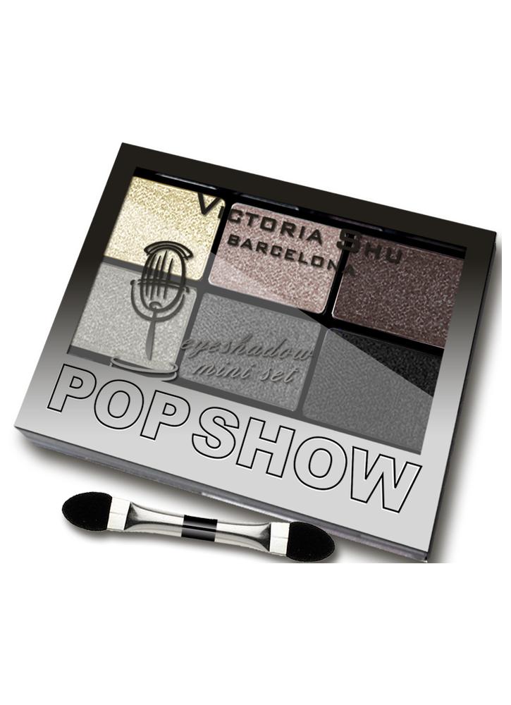 Палетка теней для век Pop Show тон 467Палетка теней<br>Мини-наборы для создания макияжа любой сложности – легкого дневного или&amp;nbsp;&amp;nbsp;выразительного вечернего.<br>Вес : 0.03600; Цвет: Коричнево-серая гамма;