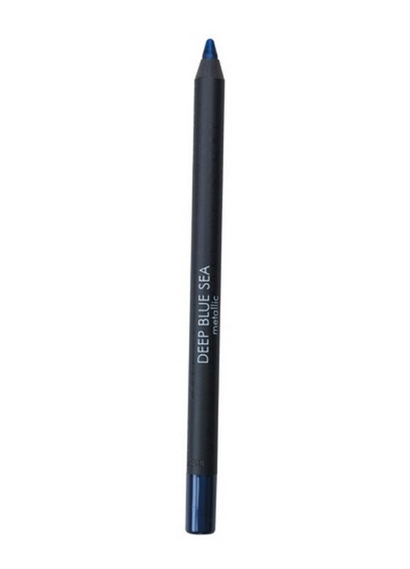 Карандаш для глаз Eyepencil тон 402 Deep Blue SeaКарандаш для глаз<br>Устойчивый карандаш для глаз. Удобный формат применения &amp;#40;затачивается&amp;#41;. Широкая гамма оттенков удовлетворяет любым нуждам клиента, дает бесконечную возможность творчества для новичков и профессионалов.<br>Цвет: Deep Blue Sea;
