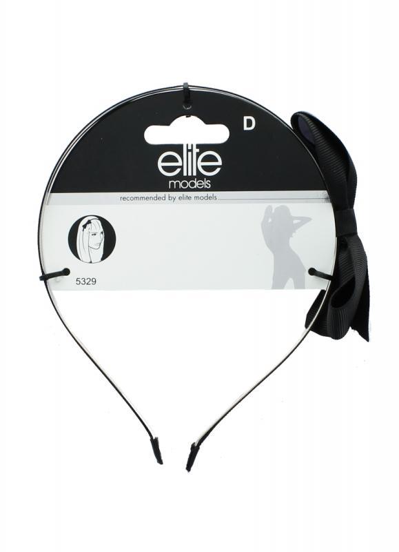 Ободок ELITEОбодки и повязки<br>Ободок для волос - универсальный аксессуар, который можно носить на коротких или длинных волосах. Он может бытьиспользован в качестве модного аксессуара или для поддержки волос.<br>Вес гр: 16,3; RGB: 204,204,204;