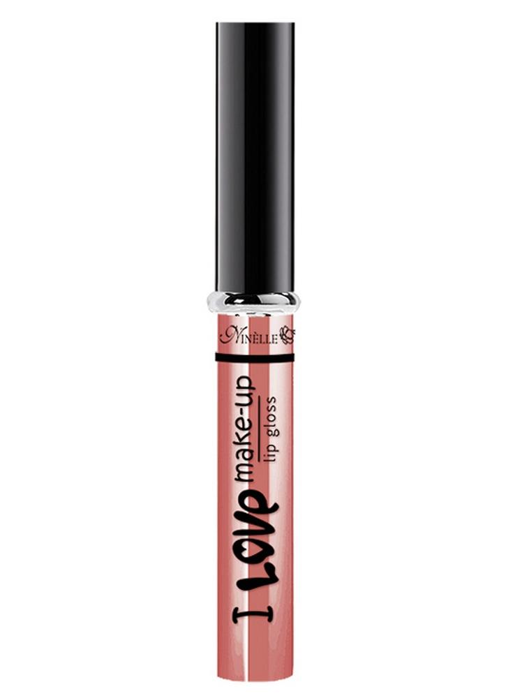 Блеск для губ I Love Make-Up тон 02 ПерсикБлеск для губ<br>Блеск для губ с нежной комфортной текстурой и легким женственным ароматом.<br>Цвет: Персик;