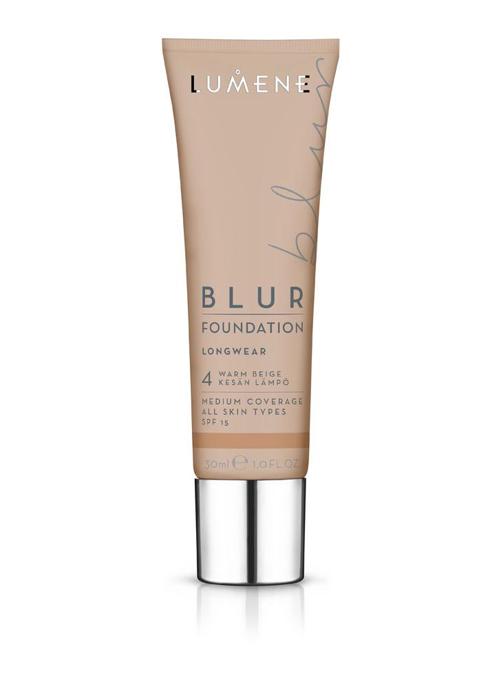 Тональный крем преображающий BLUR SPF 15 тон 4 Теплый бежевыйТональное средство<br>Стойкий тональный крем мгновенно преобразит Вашу кожу, оставляя ее ровной, сияющей и отдохнувшей.&amp;nbsp;&amp;nbsp;Тональный крем не перегружает кожу, при этом создает эффект фотошопа.<br>Цвет: Теплый бежевый;