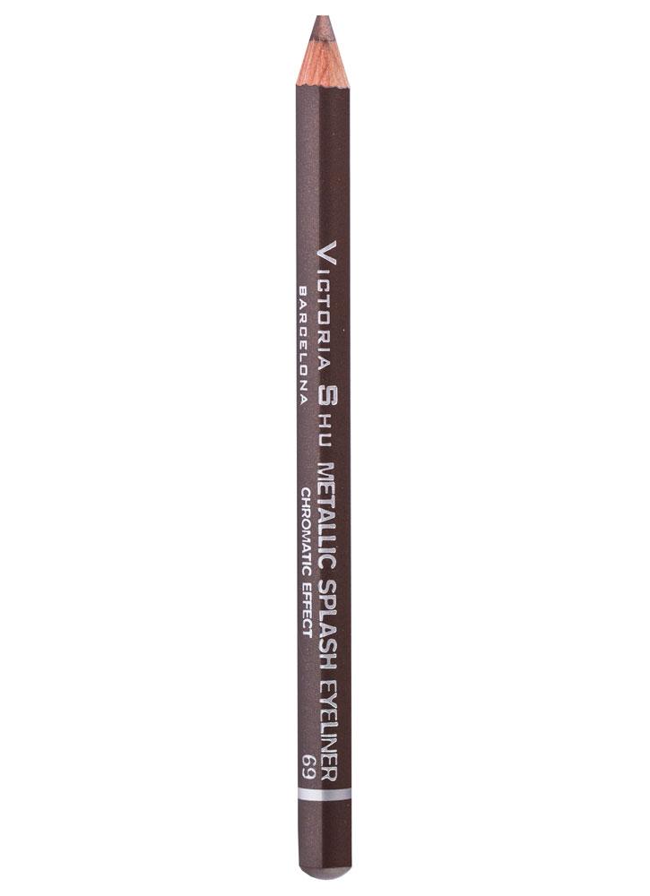 Купить Карандаш для глаз Темно-коричневый VICTORIA SHU, Metallic Splash, Чехия
