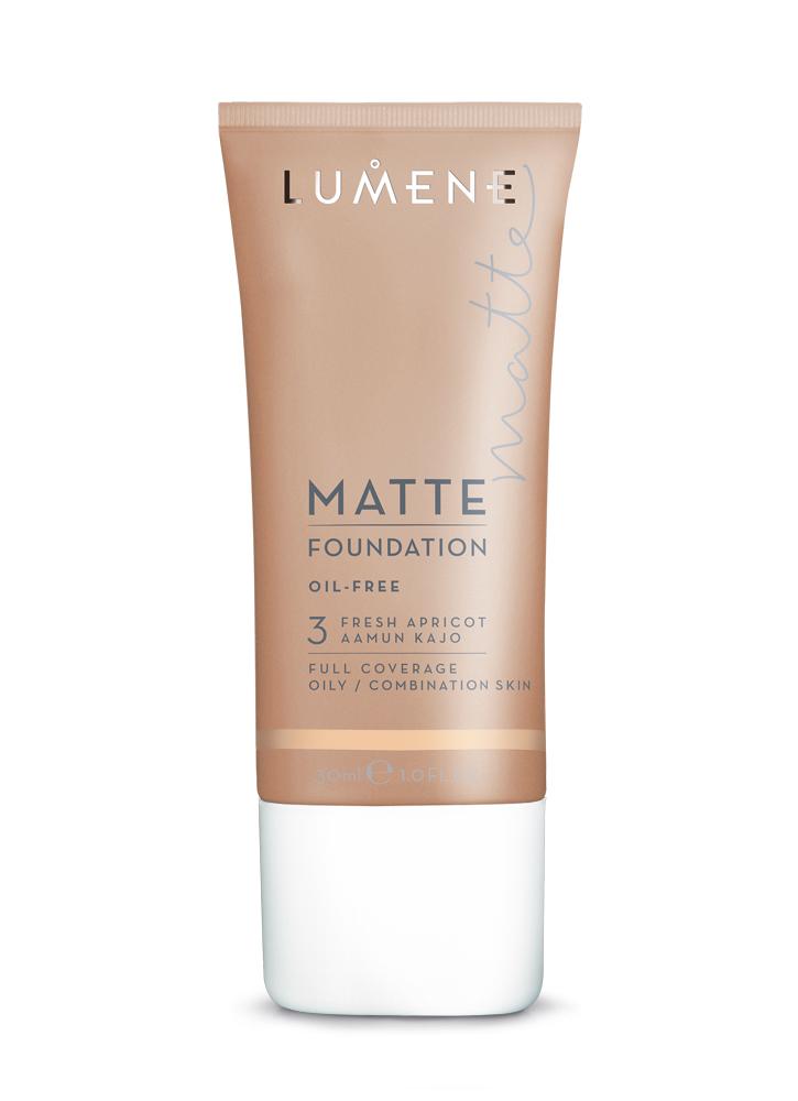 Крем тональный матирующий Fresh Apricot LUMENEТональное средство<br>Тональный крем для комбинированной и склонной к жирности кожи. Прекрасная кроющая способность &amp;#40;от средней до плотной степени покрытия&amp;#41; позволяет скрыть все недостатки кожи, возвращая ей природное сияние и красоту. Без эффекта маски.<br>Цвет: Fresh Apricot; RGB: 243,201,161;