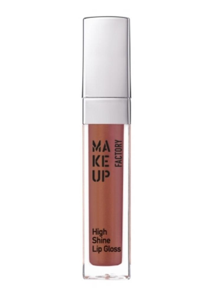 MAKE UP FACTORY Блеск для губ с эффектом влажных губ High Shine Lip Gloss тон 69 коричневая роза