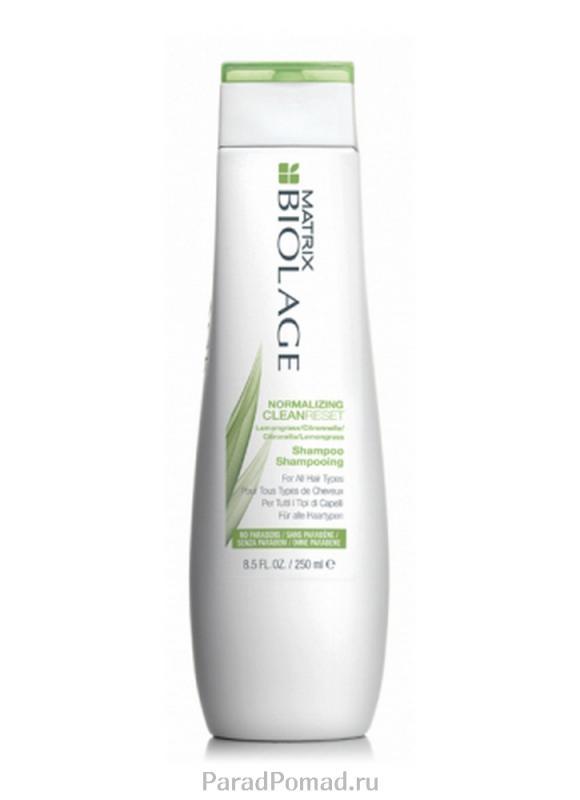 MATRIX Шампунь нормализующий Biolage Scalpsync Normalizing Cleanreset Shampoo 250 мл