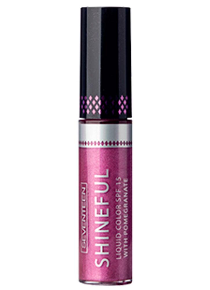 Купить Помада-блеск жидкая с глянцевым эффектом Малина SEVENTEEN, Shineful Liquid Color SPF 15, Греция
