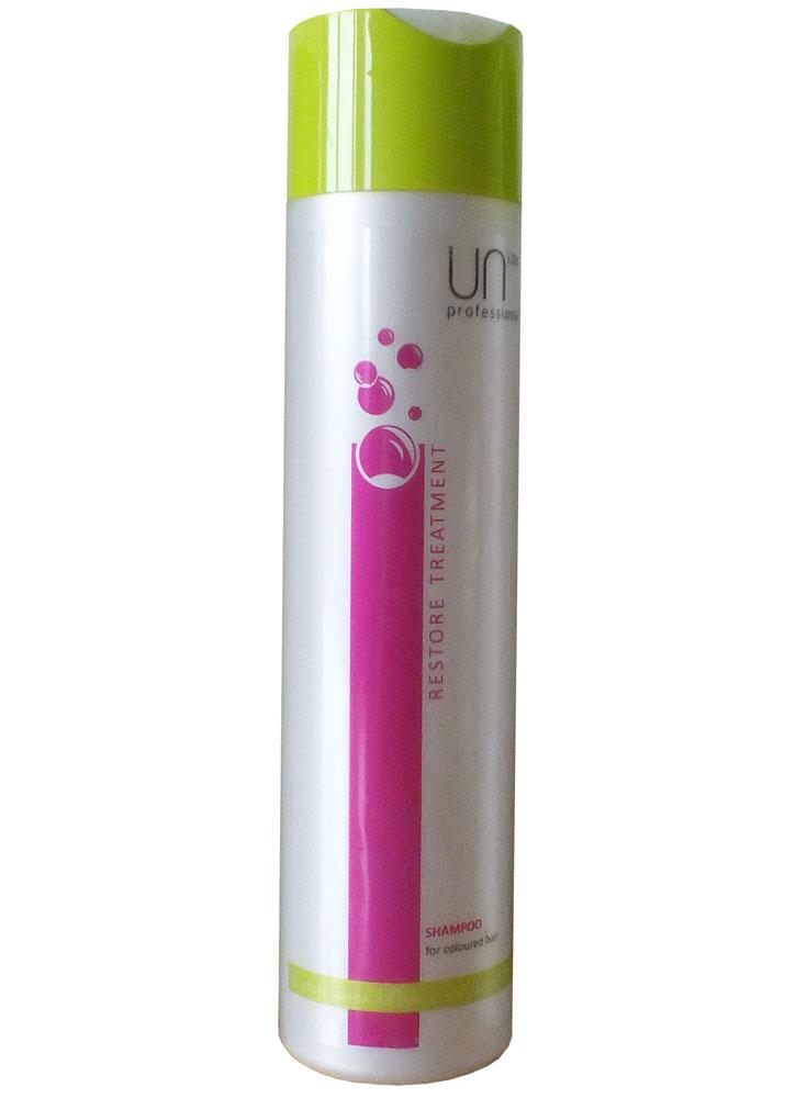Шампунь для окрашенных волос UNi.tecШампуни<br>Шампунь для окрашенных волос продлевает интенсивность цвета, восстанавливает поврежденную структуру волос, защищает от воздействия UV лучей.<br>Вес : 297; RGB: 204,204,204;